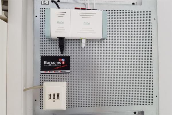Netzwerktechnik von Barsomo
